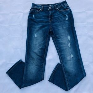 7 For All Mankind High Rise Slimmy Jeans